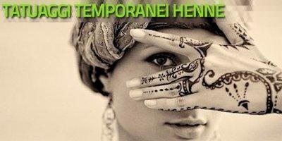 Workshop Tatuaggi all'hennè - Tattoo temporaneo