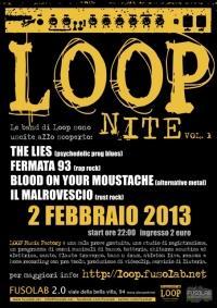 The Lies - Fermata 93 -Blood on your Moustache-Il Malrovescio - Sabato 2 Febbraio