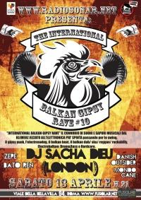 """Radiosonar presenta """"The International Balkan Gipsy Rave #10"""" - Sabato 13 Aprile"""