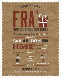 FRA' - Fiera Regalo Accessibile - 19 e 20 dicembre