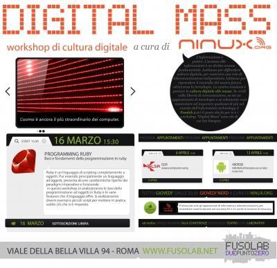 Digital Mass #5: Programming Ruby