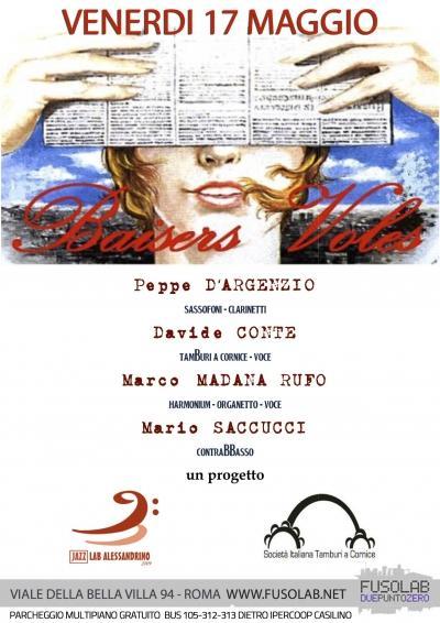 """""""Baisers volès"""" in concerto - Venerdì 17 Maggio"""