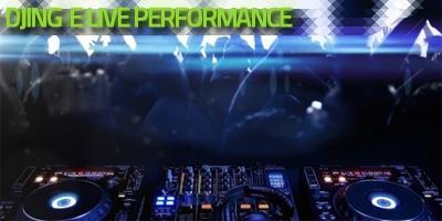 DJing e live performance