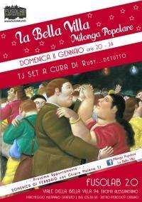 La Bella Villa – Milonga Popolare - Domenica 11 Gennaio 2015