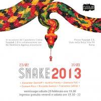 SNAKE 2013 Capodanno Cinese: l'arte in omaggio al Serpente - Sabato 23 Febbraio