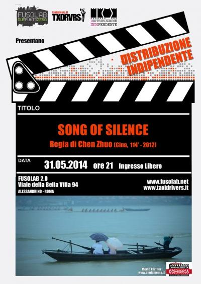 """Proiezione """"Song of Silence"""""""