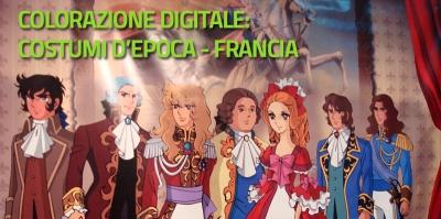 Workshop Pittura Digitale dell'illustrazione: Costumi d'epoca - Francia